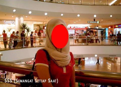 Jilbab salah