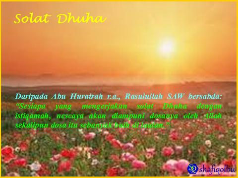 Sholat Dhuha 1