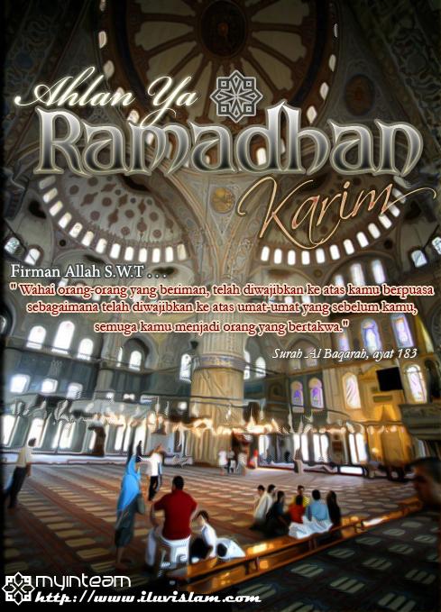 ahlan ya ramadhan