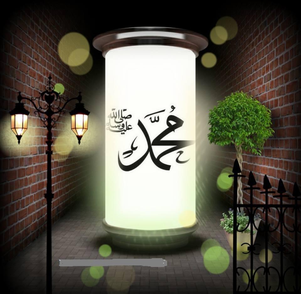 Muhammad lampu taman