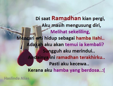 Ramadhan pergi