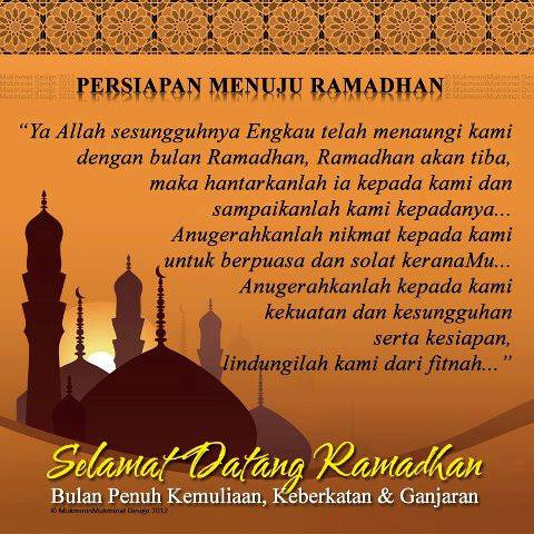 Ramadhan persiapan