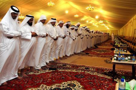 Sholat arab berjamaah