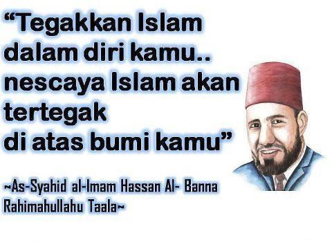 Islam tegakan pada diri sendiri