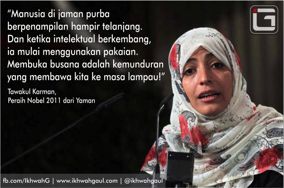 Jilbab bukan kemunduran