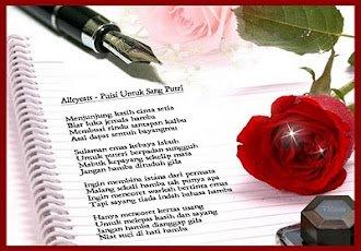 Surat pena dan rose