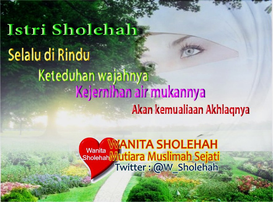 Istri sholehah