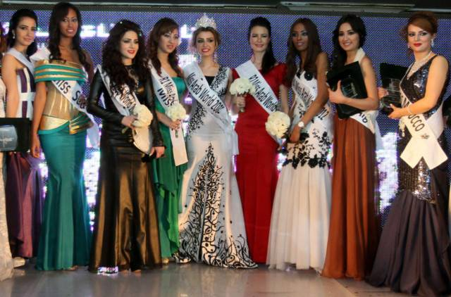 Miss Arab 2012 Nadeen Fadh
