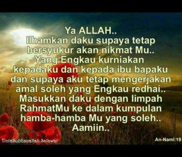 Cara Bersyukur Kepada Allah Swt Oleh M Khalilurrahman Al Mahfani Nge Blog Yu