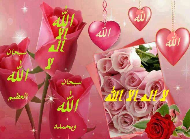 Allah liontin pink