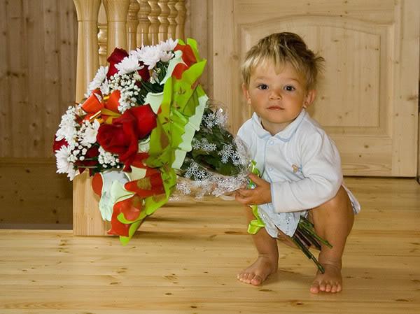 anak dan bunga