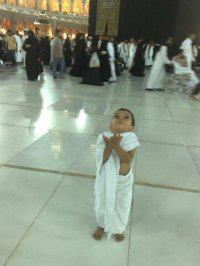 anak kain ihrom berdoa