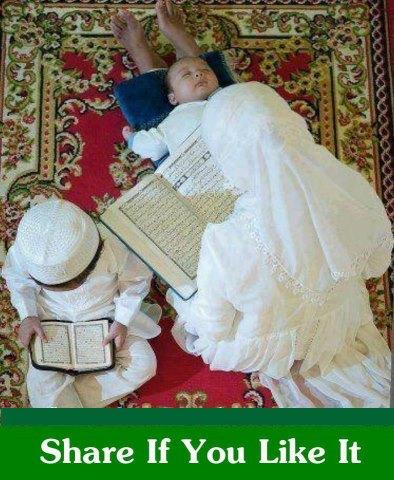 Baca quran ibu dan anak