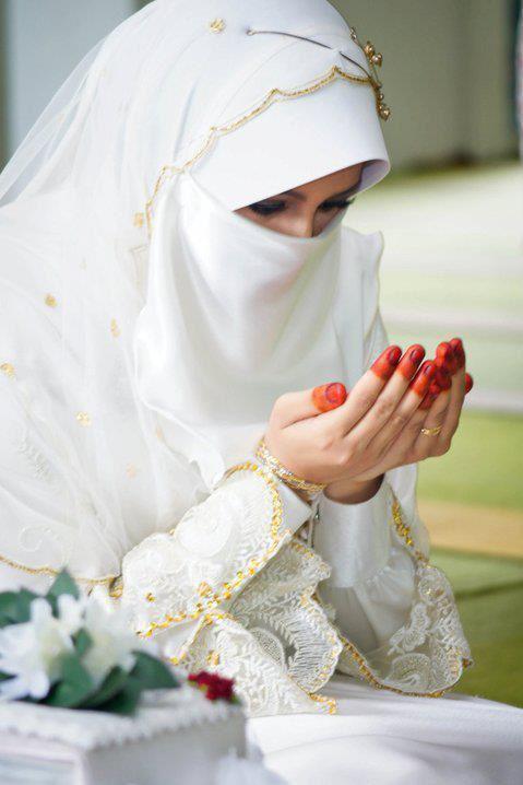 Berdoa putih V,
