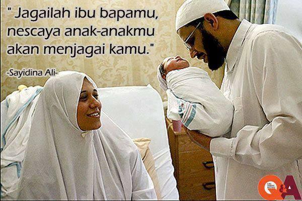 Jaga ibu dan bapak
