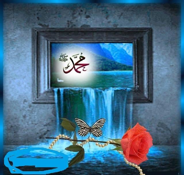 Muhammad biru kupu kupu