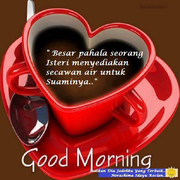 Selamat pagi kopi suami