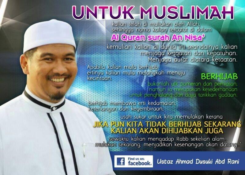 Untuk Muslimah hijab