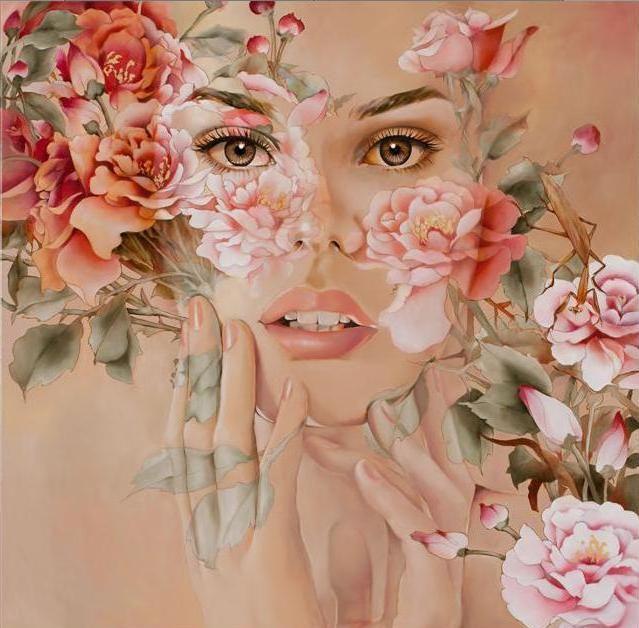 Wajah bunga 2