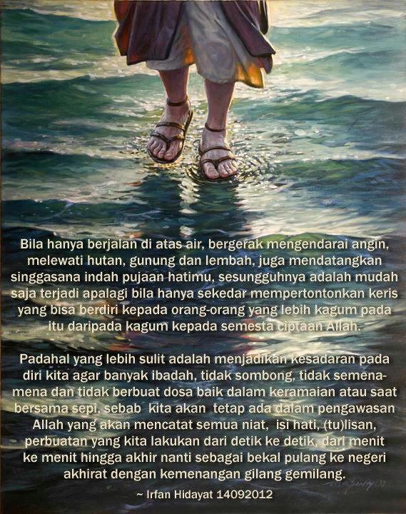 Berjalan di atas air