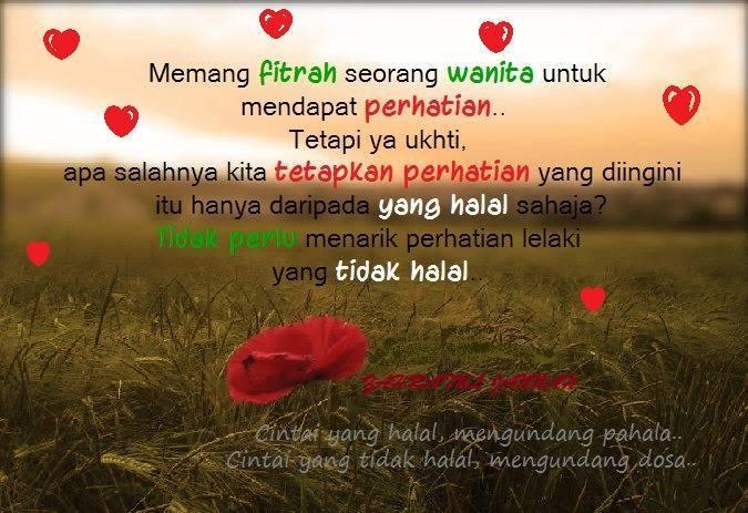 Fitrah cinta wanita ......