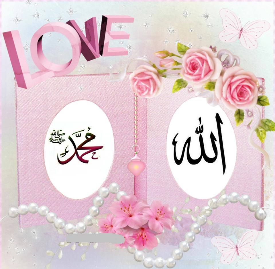Love Allah Muhammad Pink