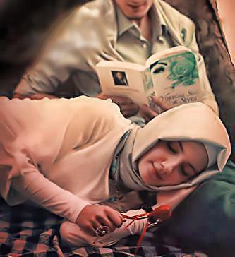 Pasangan baca buku