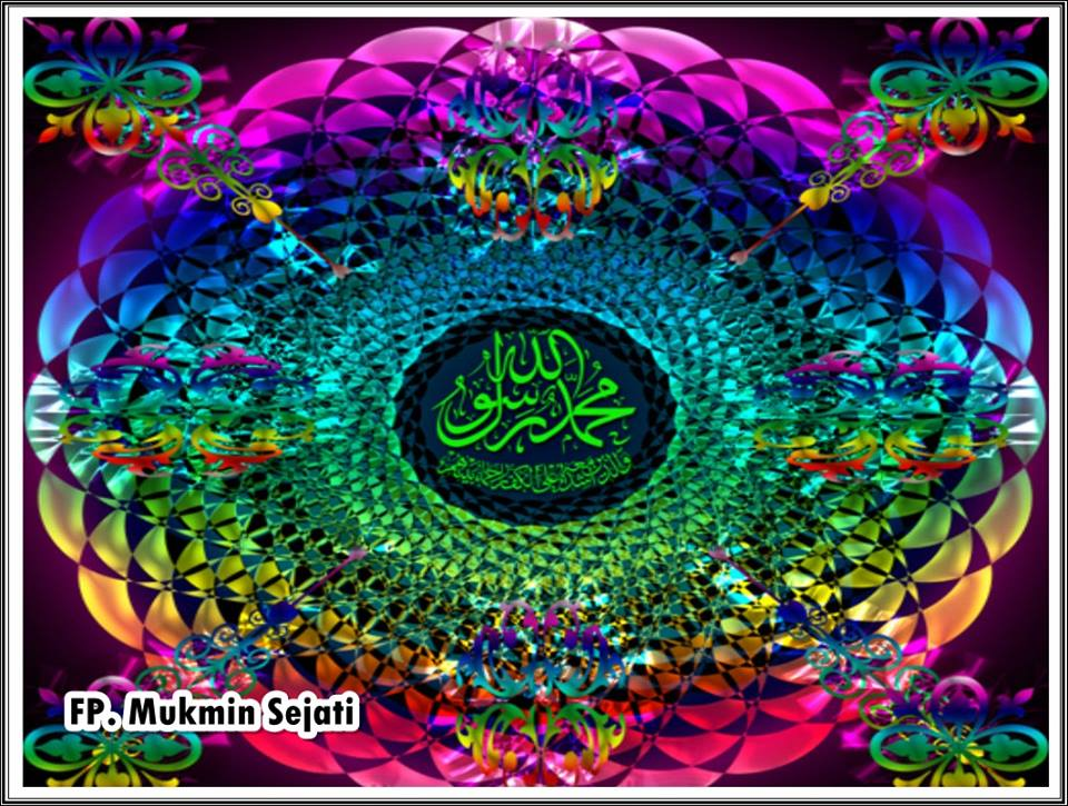 Salam jumat mubarak warna